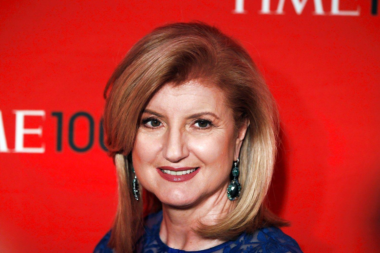 Arianna Huffington traukiasi i� �Huffington Post� d�l darbo startuolyje