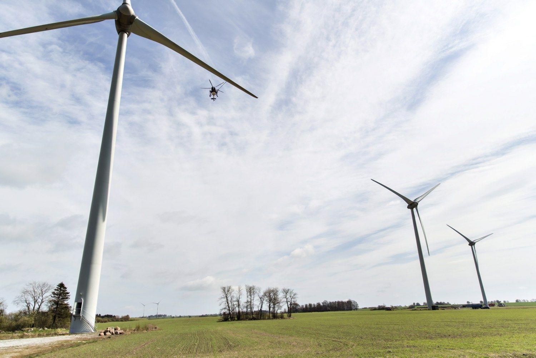 Sparnus įsuko dar vienas vėjo jėgainiųparkas