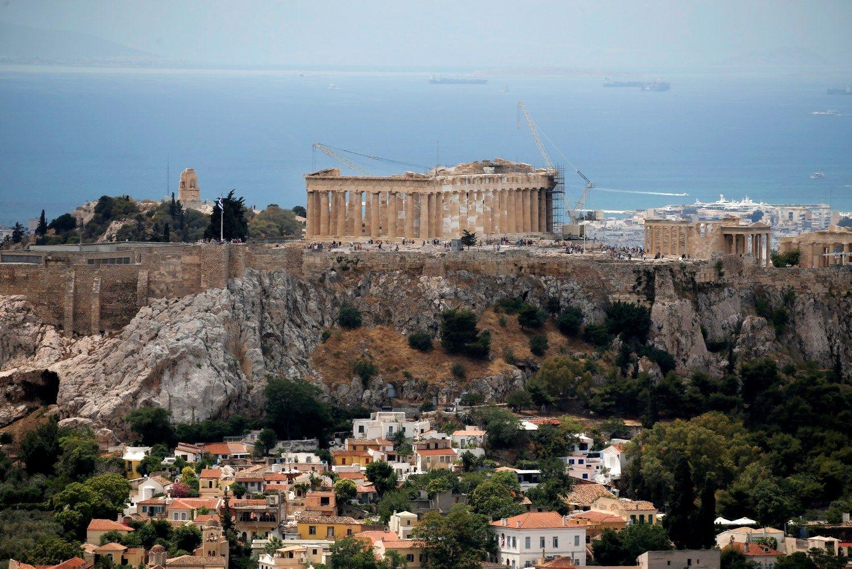 Graikijos ekonomika netikėtai paaugo