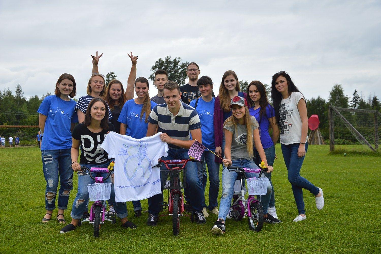 """""""Mūsų vasaros šventė"""": """"Intermedix Lietuva"""" vaikams dovanojo dviračius"""