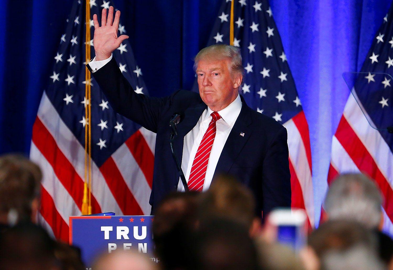 Donaldas Trumpas persigalvojo dėl santykių su NATO