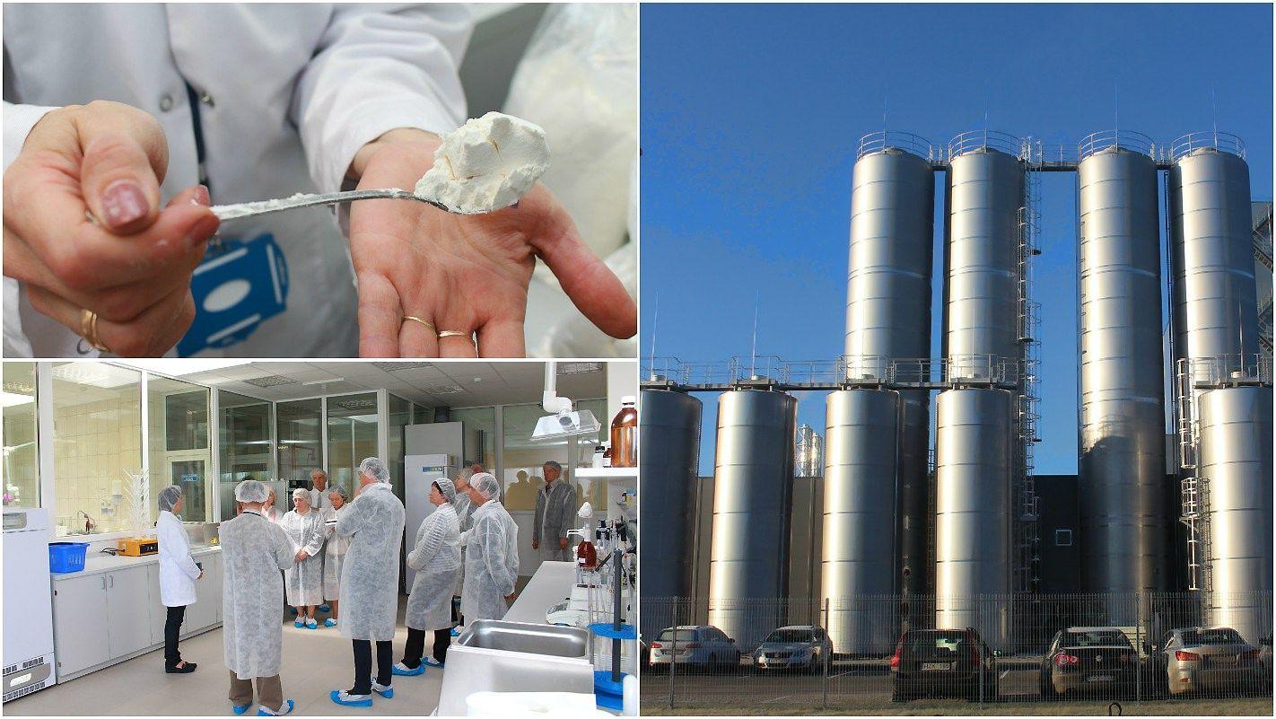 �Pienas LT� gamykla jau veikia, pilnas gamybos procesas startuos v�liau