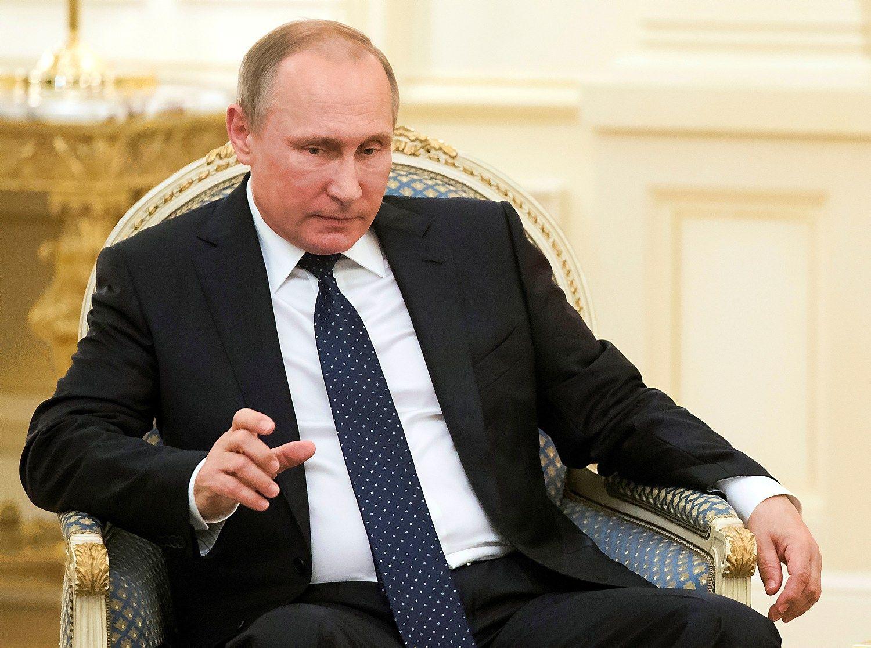 Putinas sušaukė skubų Krymo Saugumo tarybos posėdį