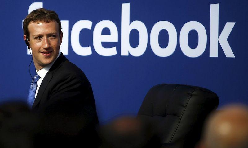 """Markas Zuckerbergas, socialinio tinklo """"Facebook"""" įkūrėjas. Stepheno Lamo (""""File Photo""""/""""Scanpix"""") nuotr."""