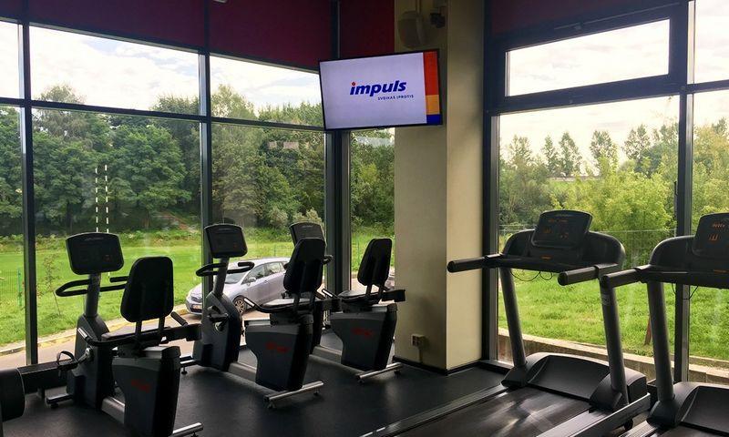 """Tai septintasis """"Impuls"""" tinklo klubas sostinėje. Lietuvoje šiuo metu iš viso veikia 13 šio tinklo sporto klubų. """"Impuls"""" nuotr."""