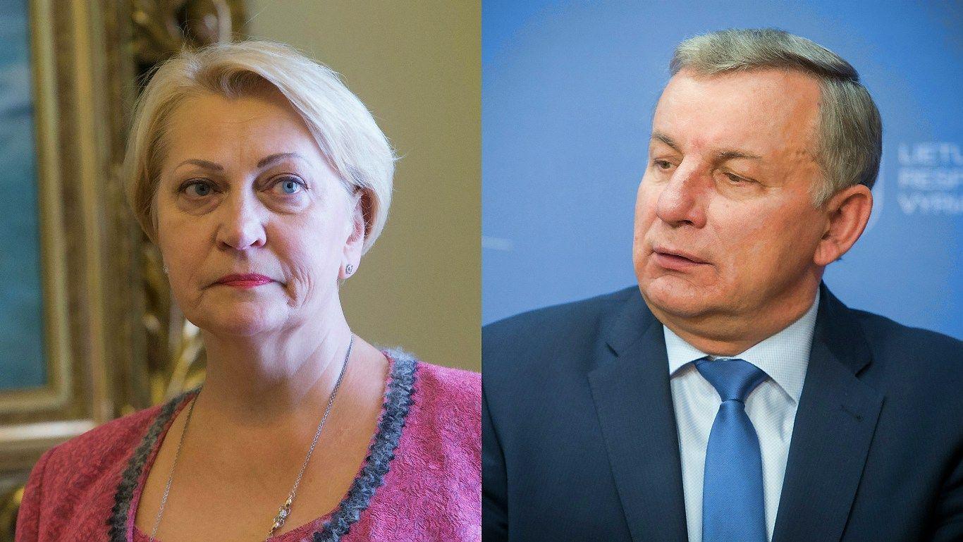 Budbergytė bara Sinkevičių už stringantį didžiulį europietišką projektą