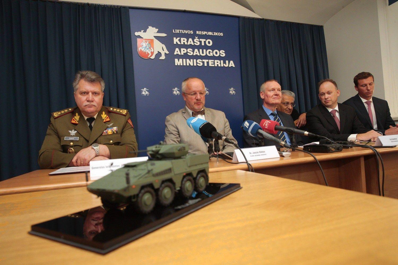 U� 386 mln. Eur �sigyjami �Boxer� Lietuvoje bus pavadinti �Vilkais�