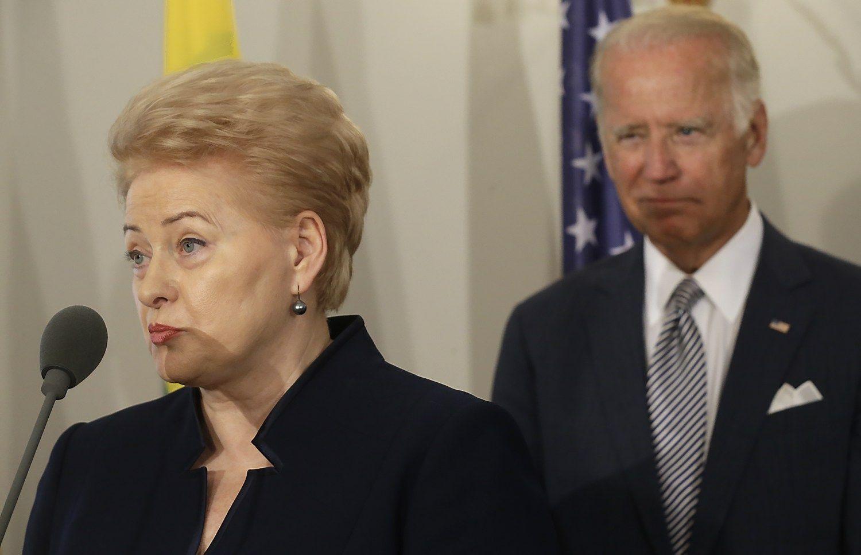 JAV viceprezidentas ramina: Va�ingtonas laikysis �sipareigojim� Baltijos �alims