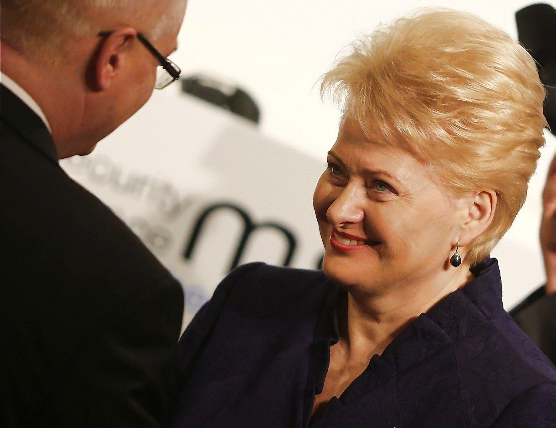 Grybauskait� susitinka su JAV viceprezidentu