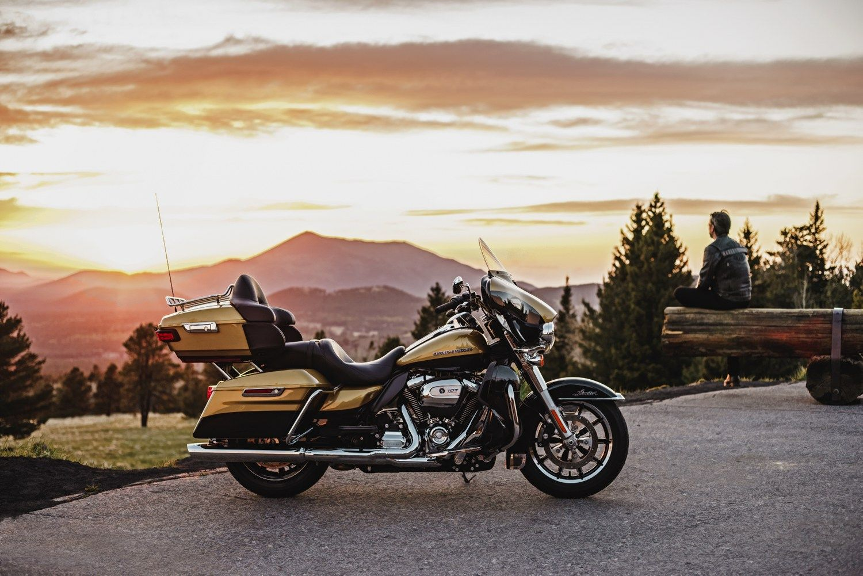 Nauji turistiniai �Harley-Davidson� � taupesni ir patogesni