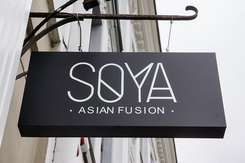 "Sustabdyta ""Akropolyje"" esančio restorano ""Soya"" veikla"