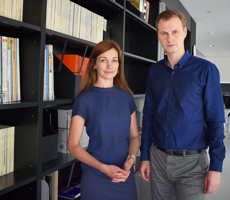 """Gintarė Šiožinienė ir Vytautas Šiožinis, MB """"Energy Advice"""" projektų vadovė ir direktorius. Bendrovės nuotr."""