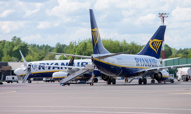 �Ryanair� rezultatai � keleivi� skai�ius perkop� 100 mln.