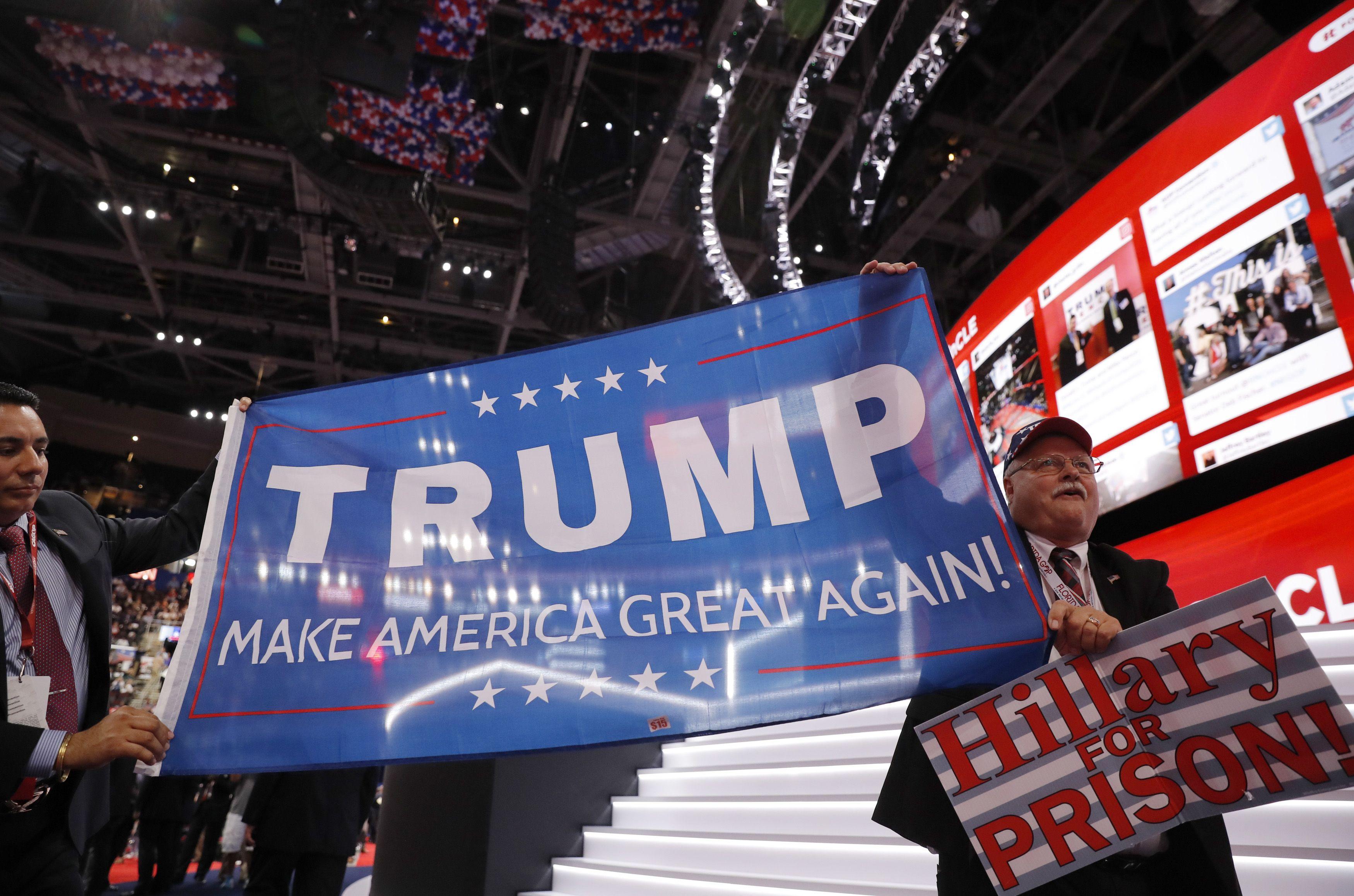 Rusai nor�t� Donaldo Trumpo pergal�s