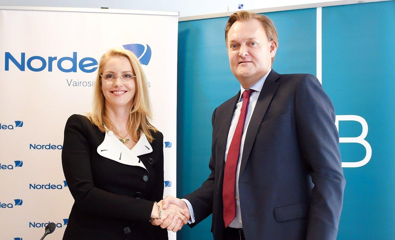 DNB ir �Nordea� junginio b�stin� bus Estijoje