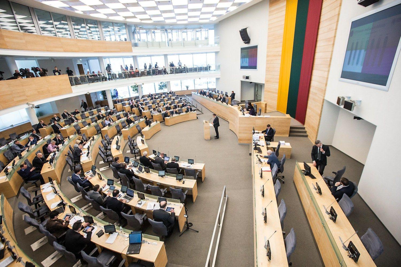 Vyriausyb� �ino, k� Seimas veiks �� ruden�