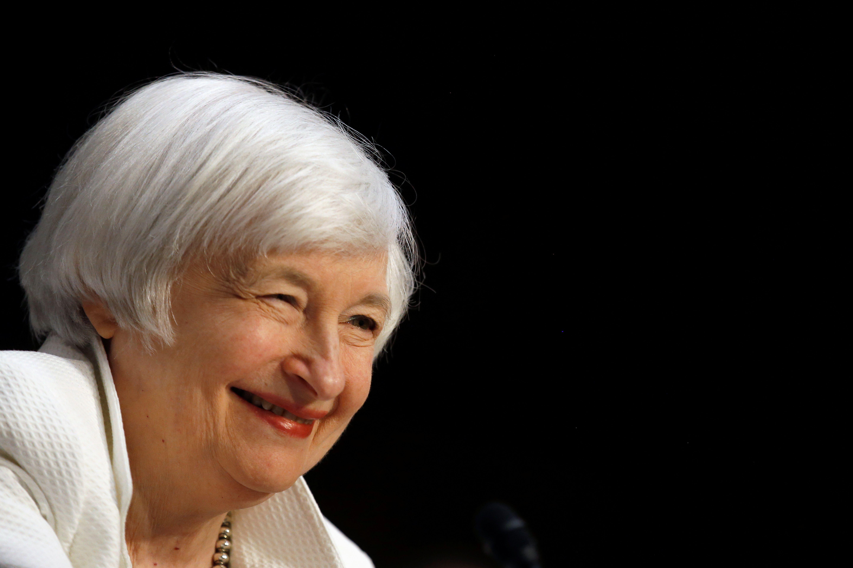 Ilgai laukta Yellen kalba: argumentai kelti pal�kanas sustipr�jo