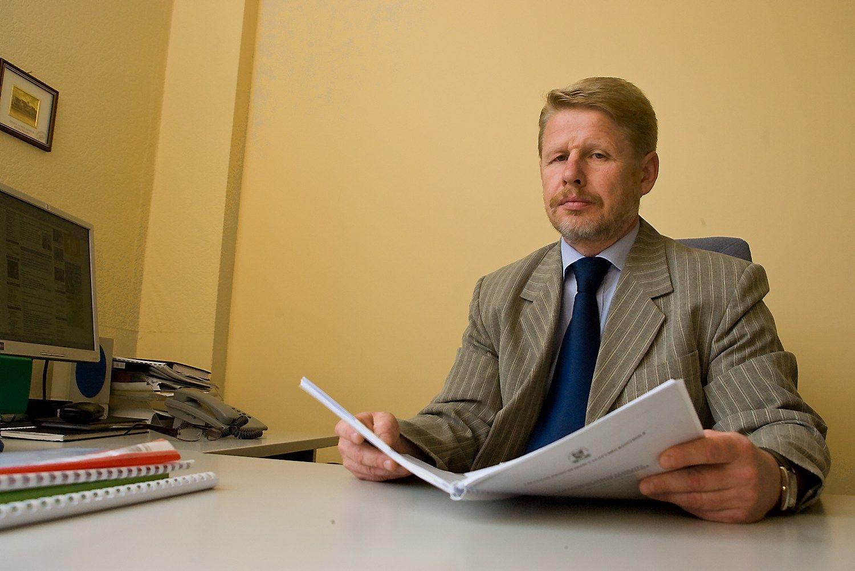 Rimantas Snajevas, Lietuvos standartizacijos departamento vadovas. Herkaus Milaškevičiaus nuotr.