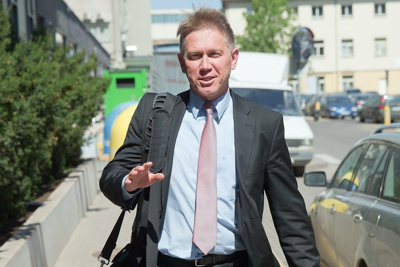 Vienas i� �MG Baltic� vadov� � spec. liudytojas politin�s korupcijos byloje