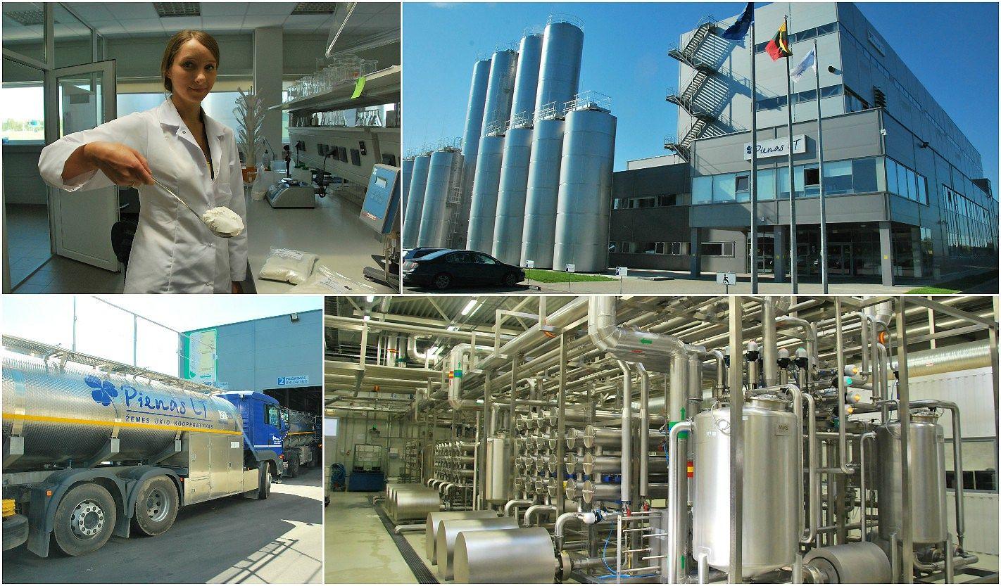 Pirmas �vilgsnis � nauj� �Pienas LT� gamykl�: gali i�sipl�sti dvigubai
