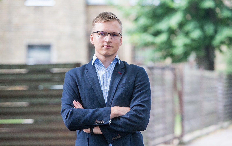 Vytautas Keršanskas, Rytų Europos studijų centro politikos analitikas. Juditos Grigelytės (VŽ) nuotr.