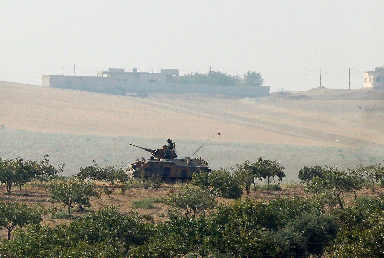 Sirijoje �uvo pirmasis Turkijos karys