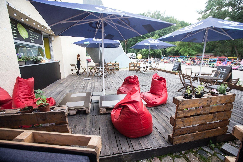 Vilniuje – konkursas įrengti lauko kavines