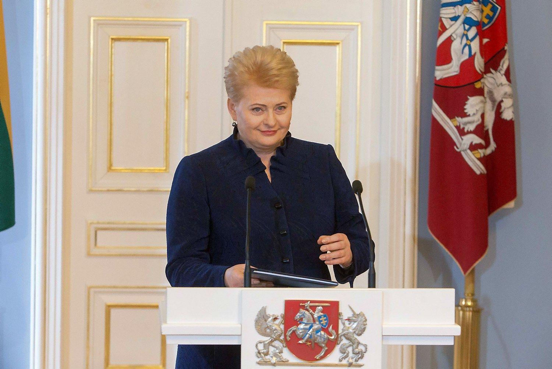 Grybauskait�: Baltraitien�s med�iokl�s istorija � nepateisinama