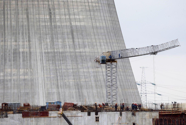 Baltarusijos AE statybviet�je �uvo �mogus