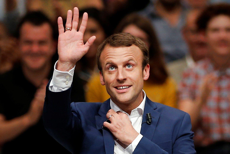 Pranc�zijos ekonomikos ministras atsistatydina, rengiasi rinkimams