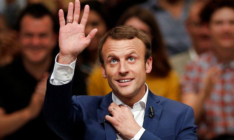 "Emmanuelis Macronas. Benoit Tessier (""Reuters"" / ""Scanpix"") nuotr."
