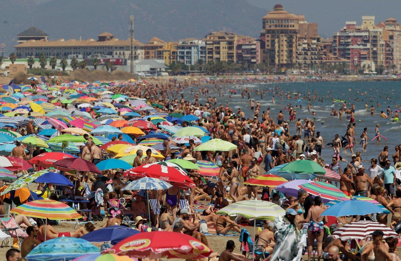 Ispanijos turizmas išlošė iš terorizmo nelaimių