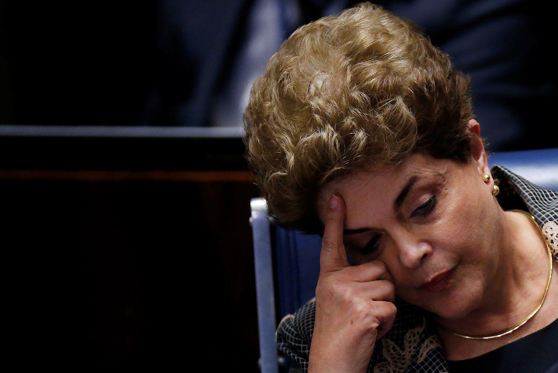 Apkaltos procesu nu�alinta Brazilijos prezident�