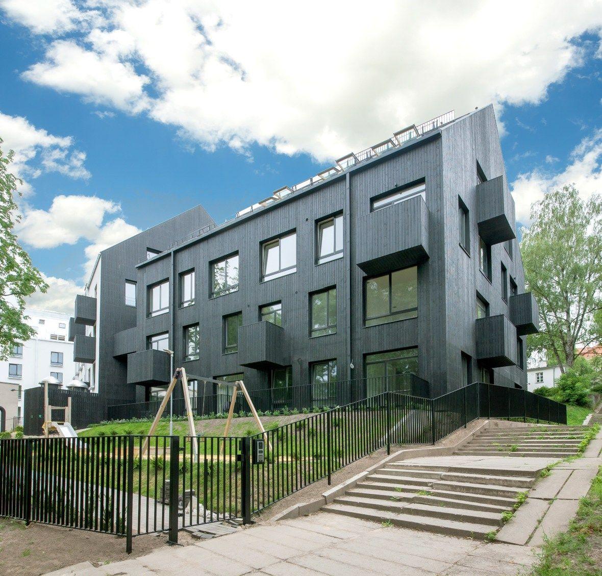 �Eika� u�baig� daugiabu�i� kompleks� Vilniaus Naujamiestyje