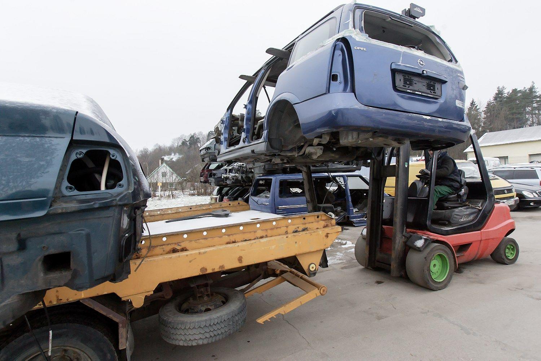 Automobili� atliek� tvarkymu r�pinsis nauja asociacija