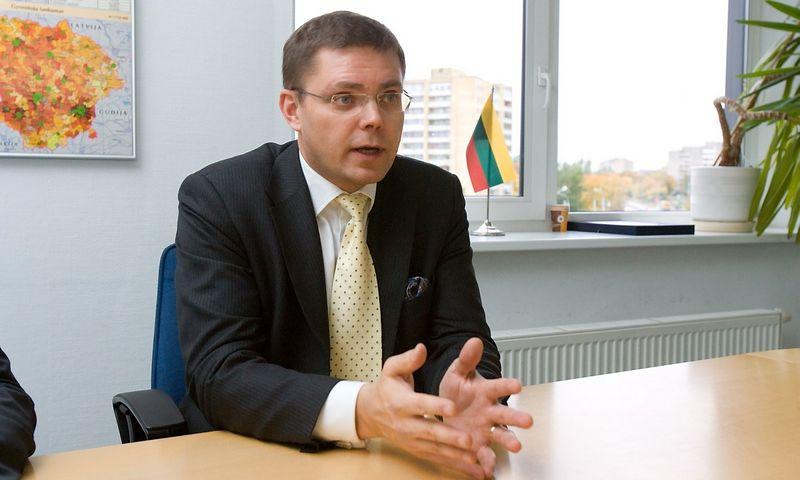 """Niklas Sonkinas, """"Tele2"""" vykdantysis viceprezidentas ir direktorius. Vladimiro Ivanovo (VŽ) nuotr."""