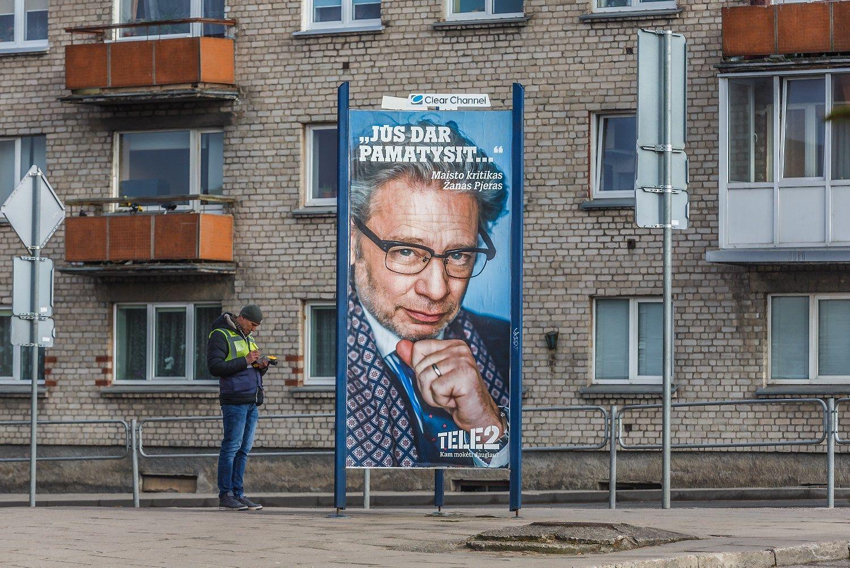 Reklamos de�imtuke � su minusu tik �Tele2�
