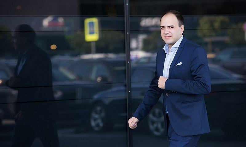 """Lukas Macijauskas, investicijų UAB """"Synergy Finance"""" fondų valdytojas. Vladimiro Ivanovo (VŽ) nuotr."""