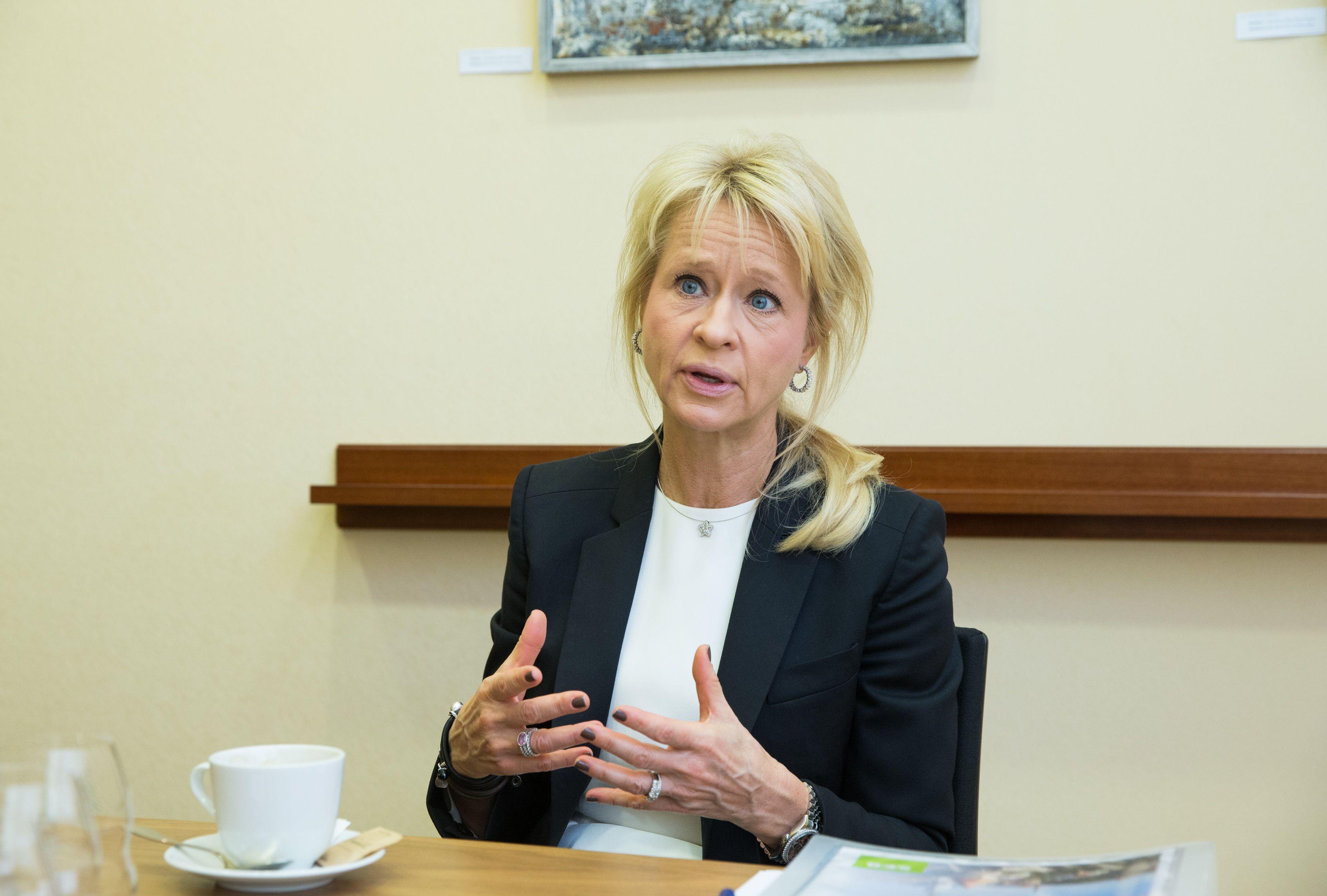 """SEB vadovė apie """"Donbea"""": daugiau bankų konsolidacijos nepamatysite"""