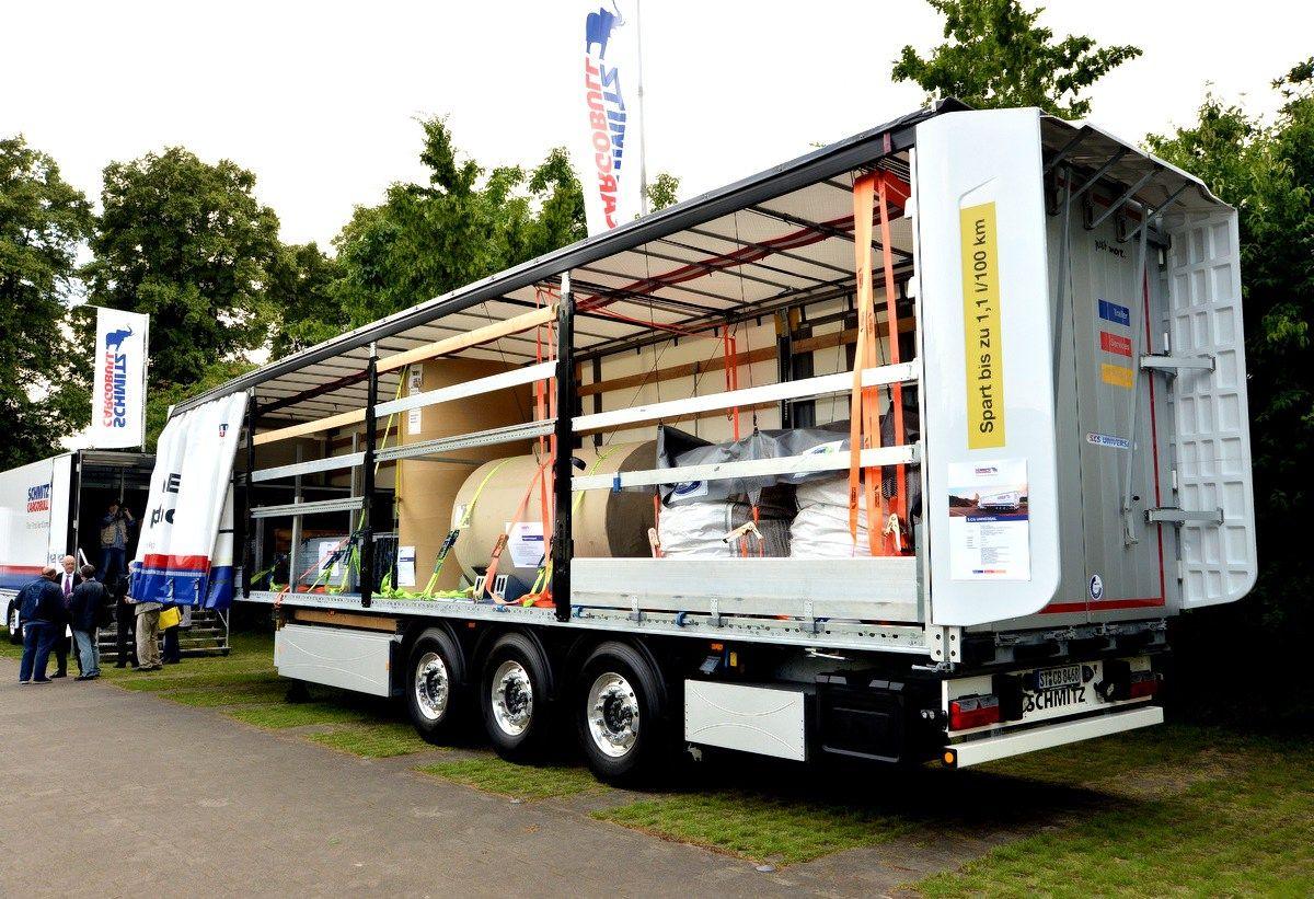�Schmitz Cargobull� naujov�s: nuo klijuot� grind� iki telematikos puspriekab�ms