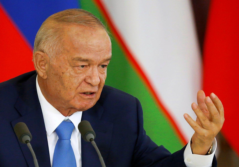 """""""Reuters"""": mirė Uzbekistano prezidentas"""