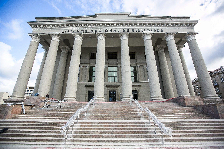 Baigė 8-erius metus trukusią nacionalinės bibliotekos rekonstrukciją