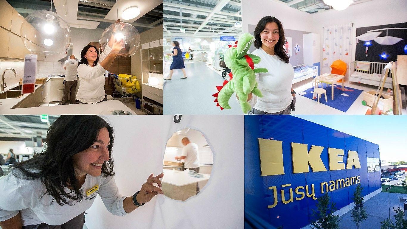"""Pirmosios darbo dienos """"Ikea"""": smagu suktis įkvėpimo sūkury"""