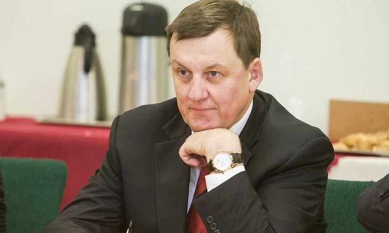 """2016 02 23. Rolandas Valiūnas, """"Investors Forum"""" valdybos pirmininkas, advokatų kontoros """"Valiūnas Ellex"""" vadovaujantis partneris. Juditos Grigelytės (VŽ) nuotr."""