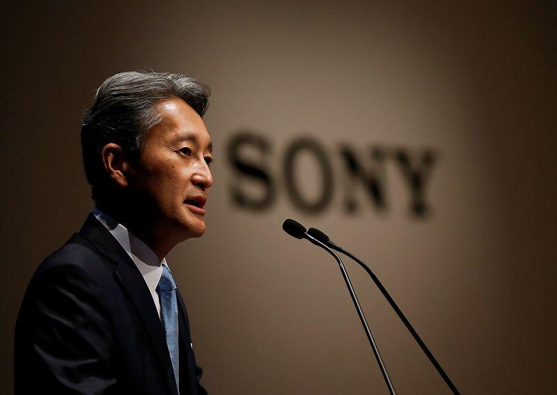 """Kazuo Hirai, """"Sony"""" prezidentas ir generalinis direktorius. Toru Hanai (""""Scanpix""""/""""Reuters"""") nuotr."""