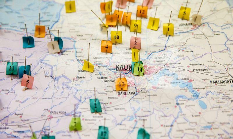 """""""Sodros"""" duomenimis, darbuotojų, kurie dirba ne visu etatu ir gauna mažesnę už minimalią algą, Lietuvoje yra apie 160.000.  Juditos Grigelytės (VŽ) nuotr."""