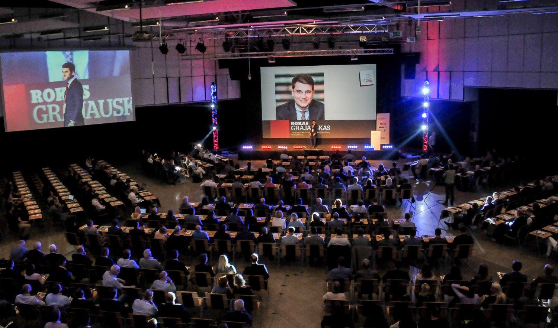 Kaip didinti verslo greit�: Vilniaus regiono �Gazel�
