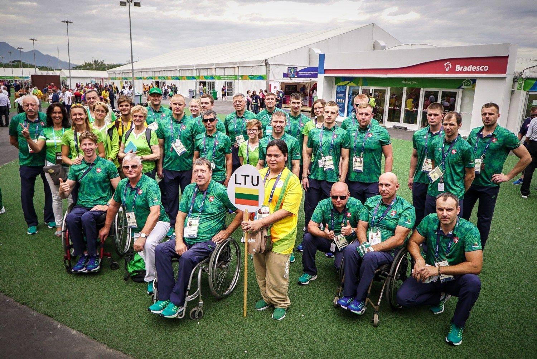 Lietuvos parolimpiečių startai Rio