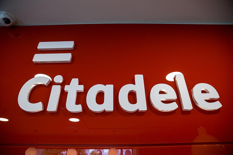 """""""Citadele"""" portfeliai auga dviženkle išraiška"""