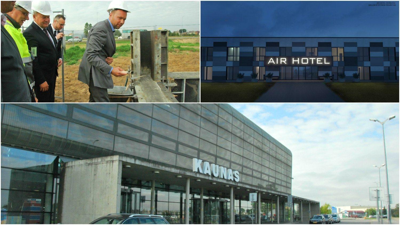 Prie Kauno oro uostodygsta viešbutis už 1,5 mln. Eur.